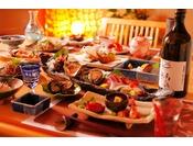 丹後の新鮮な海の幸を地酒と一緒に愉しむ!
