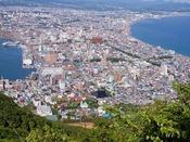 【景観】函館山から見たラビスタ函館ベイ