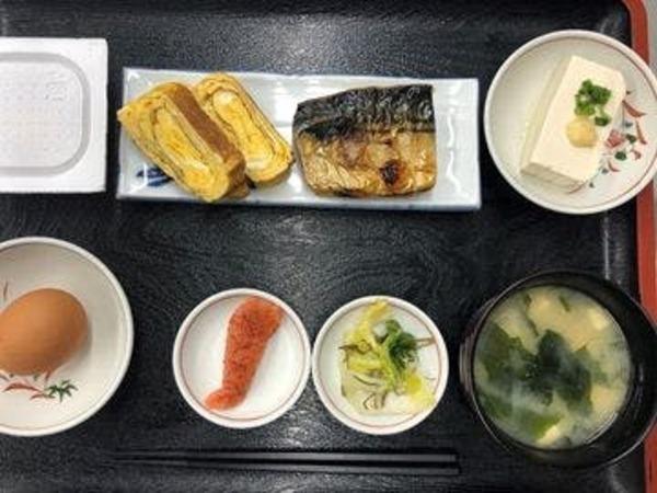 【朝食一例】