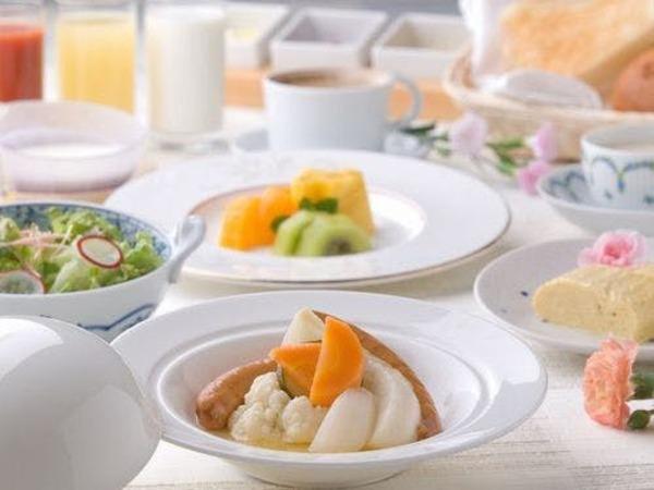ホットマリネで温まる洋朝食