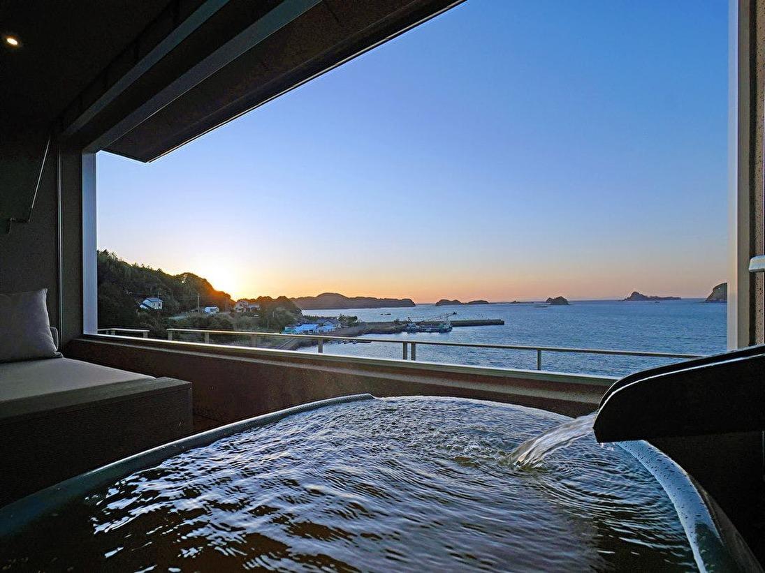 海里スイート 源泉かけ流し露天風呂(温泉)