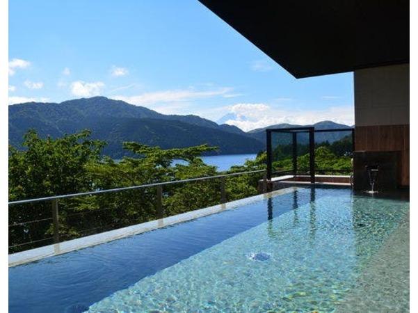 富士山・芦ノ湖を望む絶景温泉