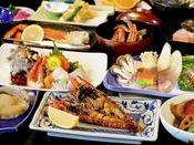 【夕食】シニアプラン 季節の一例