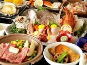 【夕食】カップルプラン 季節の一例