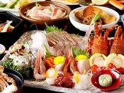 【夕食】お刺身たっぷりプラン 季節の一例