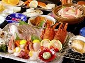 【夕食】2大名産プラン 季節の一例