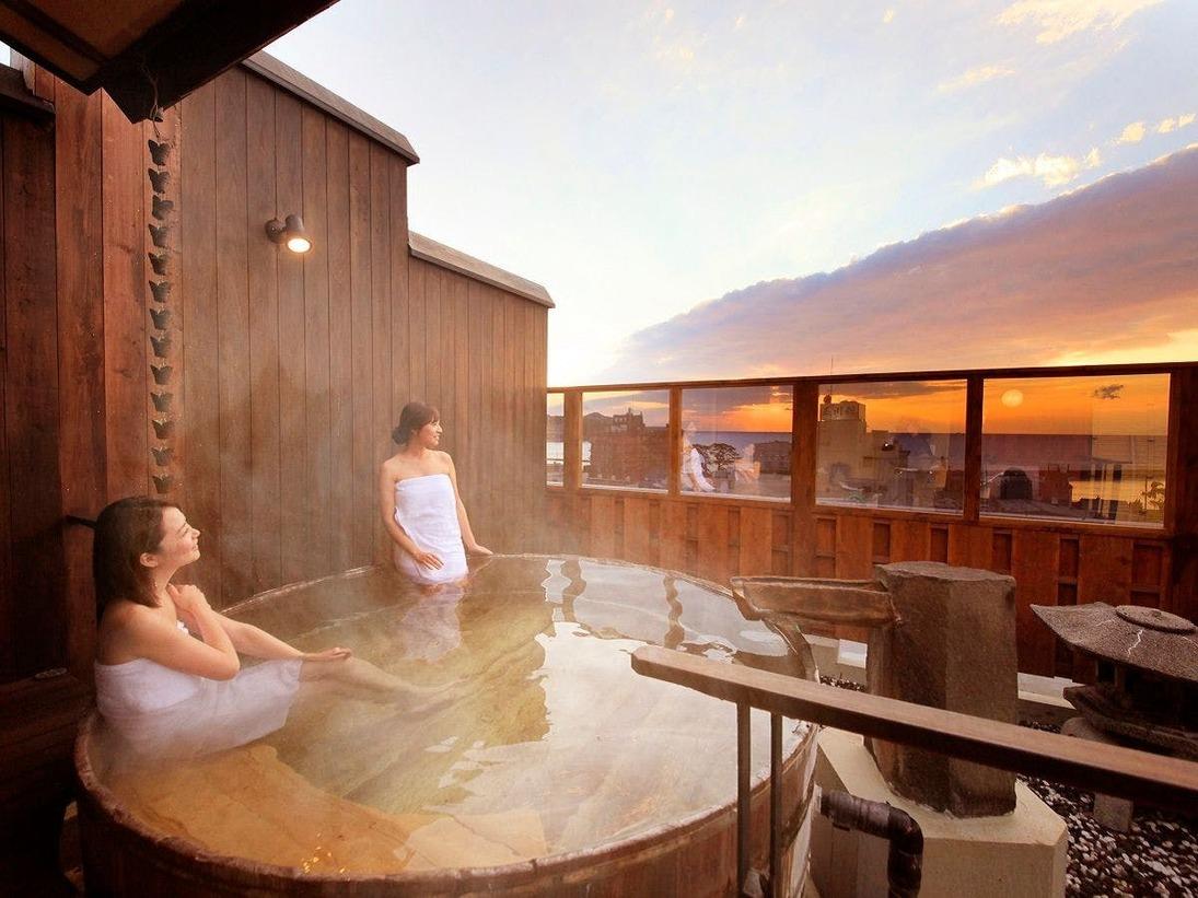 【温泉】最上階展望風呂