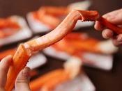 蟹食べ放題(夕食バイキング)