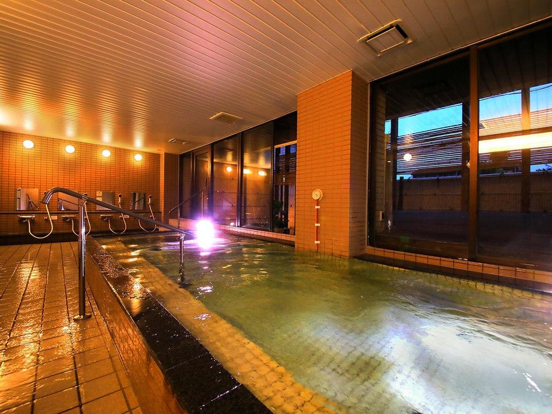 域一番の大浴場は、ビジネス・観光に疲れた体を足を延ばしてゆっくり癒せます