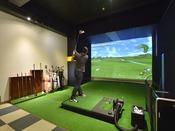 シュミレーションゴルフもお楽しみいただけます。