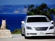 【送迎】レクサスを始め、ベンツ、BMW等のお車を用意しております。送迎のお車についても、快適な空間を提供しております。