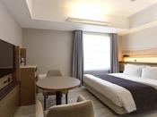 スタンダードダブル(エコノミー)<イメージ、ご利用いただくお部屋と異なる場合もございます。>
