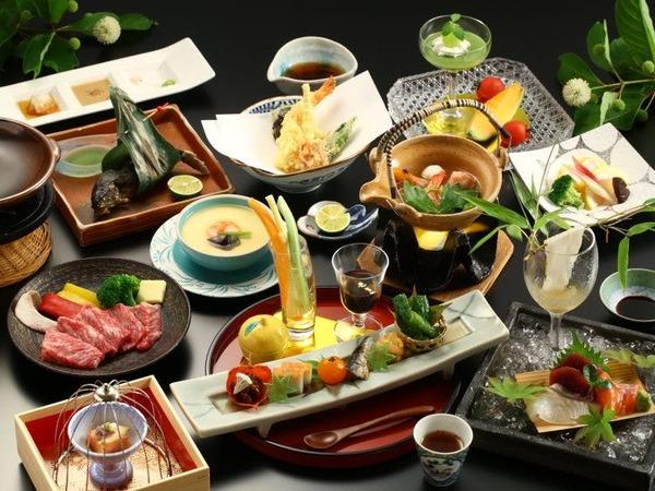 ■長野県の美味しい食材を使用した創作会席