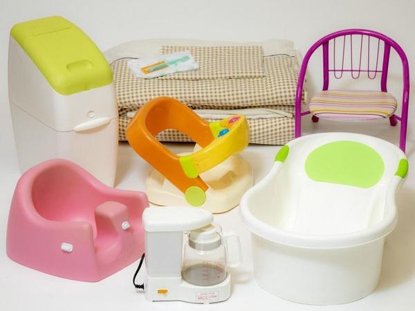 乳幼児向け貸出備品(一例)