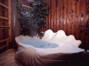 無料貸切風呂「しゃこ貝風呂」