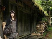 平湯温泉に残る、懐かしい日本の原風景が心を癒してくれます。