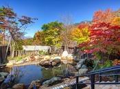 秋の大浴場露天風呂(イメージ)