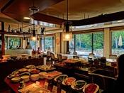 レストラン La Riviere~ご朝食はブッフェスタイル
