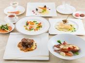 世界三大珍味~キャビア、フォアグラ、トリュフをはじめシェフが本当に美味しいと認めるフランス産の食材にこだわった特別なフルコース。