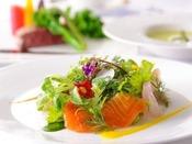 信州の食材を用いた彩り鮮やかな本格フレンチ