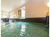 【大浴場】硫酸イオンを豊富に含んだ良質な天然温泉です。