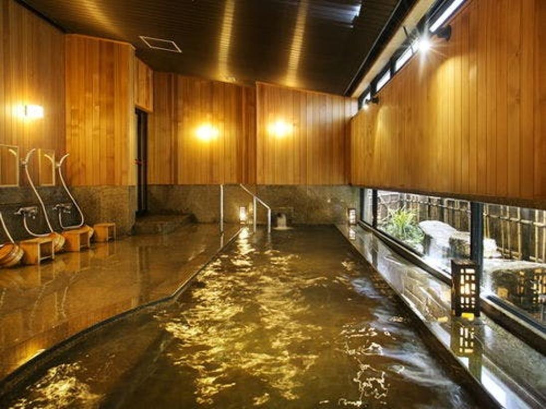 ■温泉■花兆庵1F坪庭を楽しむ「石橋(しゃっきょう)の湯」(女性浴場)