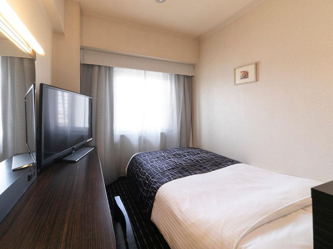 シングルルーム / 広さ9平米 / ベッド幅120cm×1台