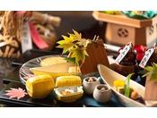 皿の上から季節を感じるように見た目も美しく、一品ずつ丁寧に仕上げます。