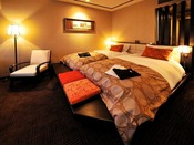 【ツイン/24平米】ベッド幅:1050mm×2000mm 2台/落ち着いた雰囲気の客室