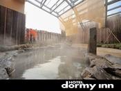 ◆男性大浴場露天風呂 外気に触れながらの入浴は格別です♪