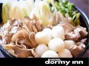 ◆だまこもち汁(イメージ)当ホテルの人気メニュー!一口サイズで食べやすいきりたんぽです♪