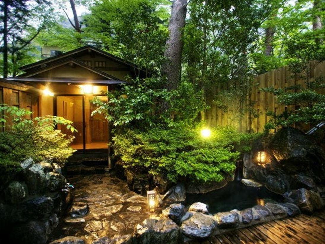 """■貸切露天風呂-けやきの湯-■~大切な方と、大切な時間をつむぐ~美景を眺めて""""ゆったり""""と。"""