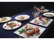 夕食はイタリアン又は、和食でご用意しております、