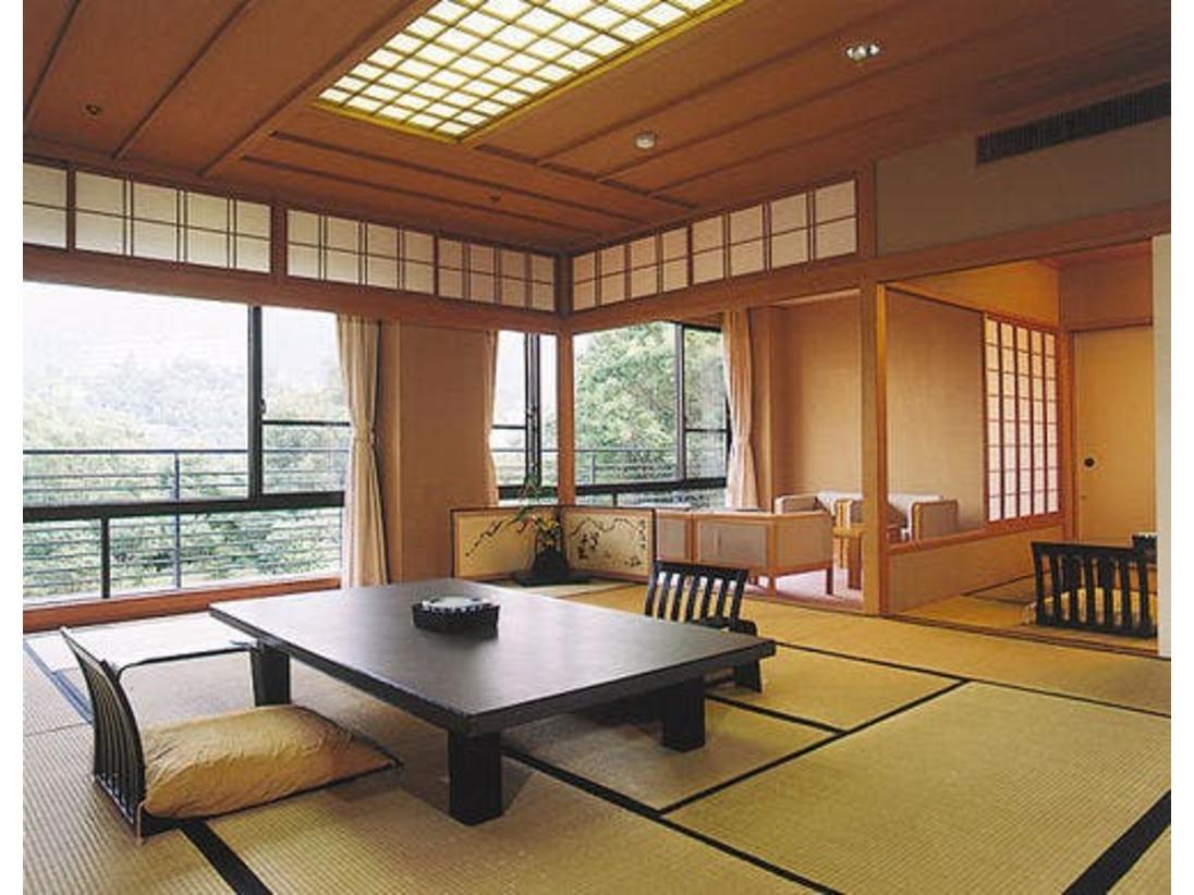 スイートタイプの特別和室(80~90平米)