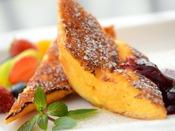 【NASUバイキング エルバージュ】朝食バイキング 焼きたてふわふわのフレンチトースト(メインタワー1F)