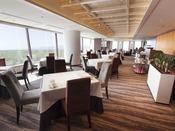 【那須のフランス料理 メリメランジュ】レストラン店内(メインタワー最上階13F)