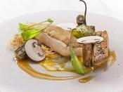 【那須のフランス料理 メリメランジュ】スペシャリテ‐栃木しゃもの全てを食す(メインタワー最上階13F)