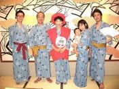 豊島屋では色んなお色のちゃんちゃんこをご用意しております。美味しいお料理と共にお祝いしませんか