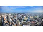 どの客室からも浜松の街が一望!(昼の景色)