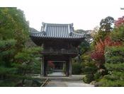「四天王寺」ホテルから徒歩10分(車で5分)