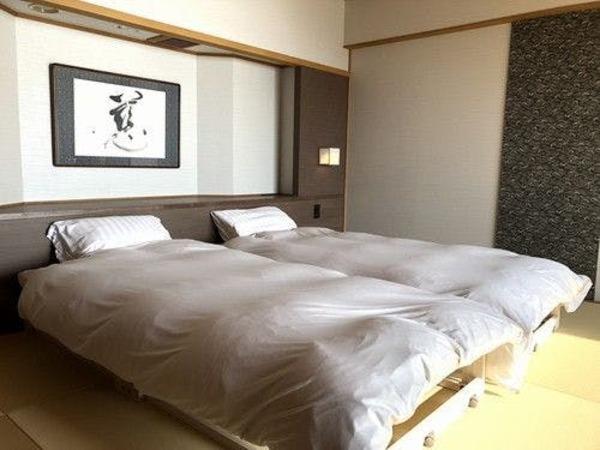和室ツインベッド(客室一例)