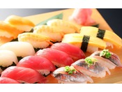 握り寿司※画像はイメージです。