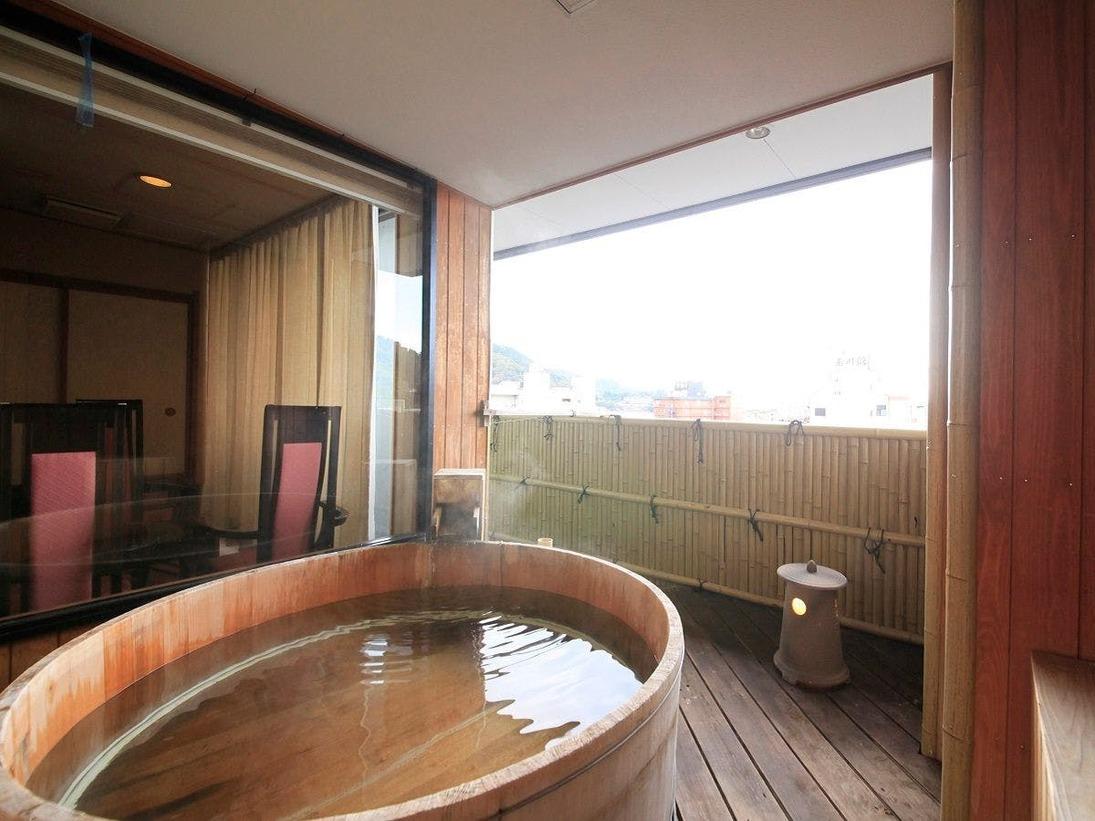 最上階露天風呂付きキング