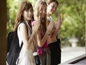 人気の四天王寺や、大阪天満宮など寺社仏閣でご朱印めぐりはいかがでしょうか?