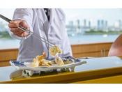 日本料理「さくら」天麩羅カウンター