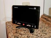 全てのお部屋の浴室には小型テレビを設置