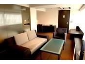 客室最上階特別フロア【BLANC】全てが異なったデザインの上質な1日12室限定の特別室58平米~80平米