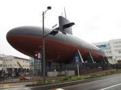 鉄のくじら館(広島駅からJRで約32分・車でクレアラインを通って約40分)