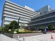 広島市民病院(ホテルから車で約5分)