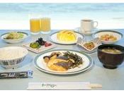 朝食バイキング(和食盛り付けイメージ)